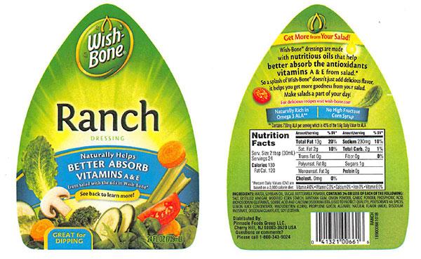wish-bone salad dressing recall_125697
