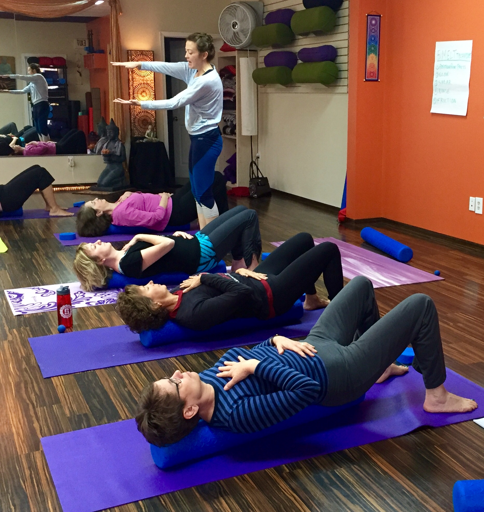 Heather Umberger has been teaching MELT for a little over two years.