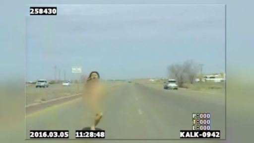 Naked driver leads Santa Fe County deputies on chase - YouTube