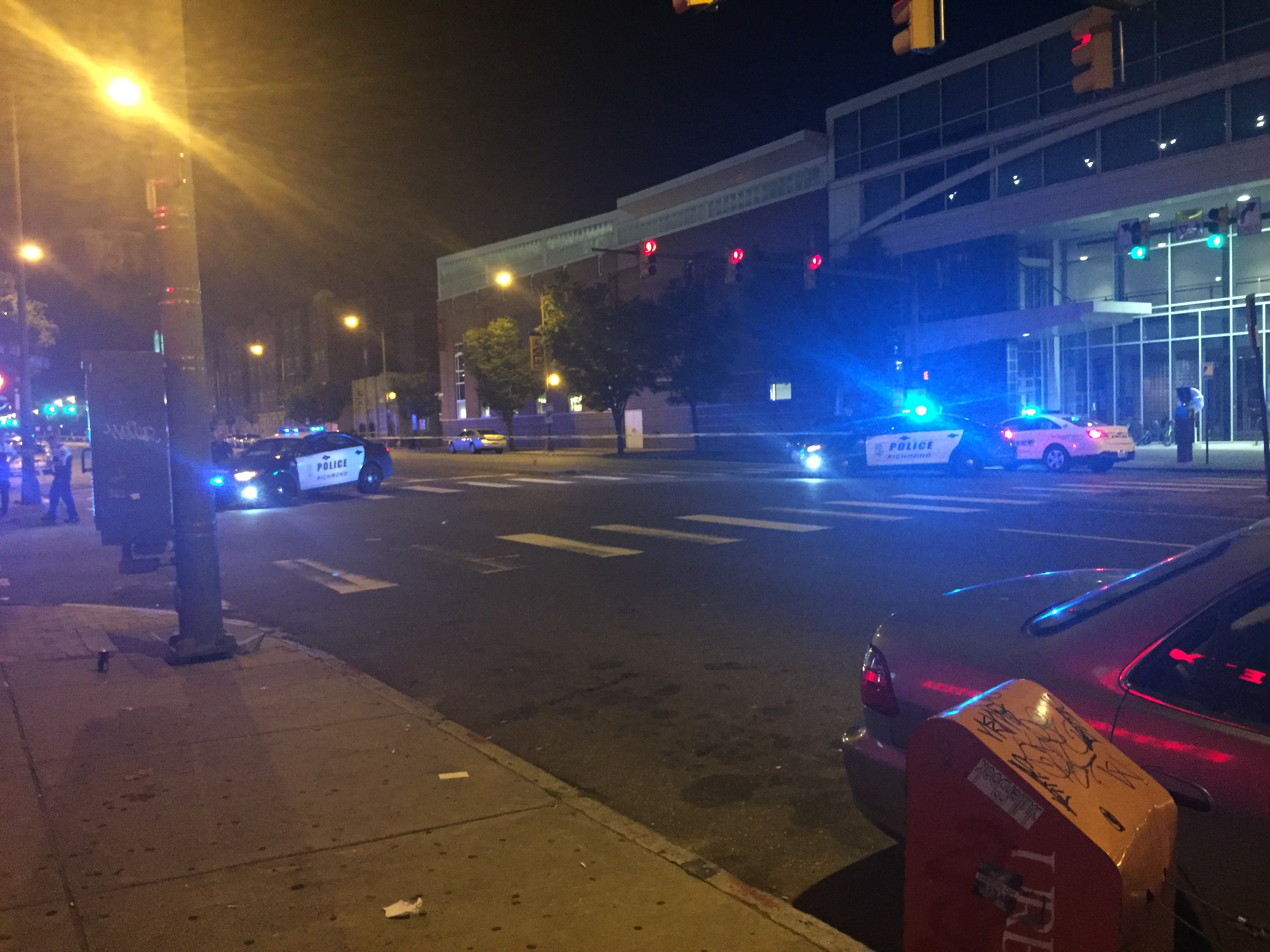 Man transported to hospital after shooting on VCU Monroe
