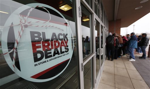 Black Friday Sales, Shoppers, J.C. Penny_323797