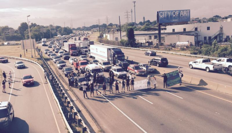 Black Lives Matter Protesters Sentenced To 5 Days In Jail For Blocking Traffic On I 95