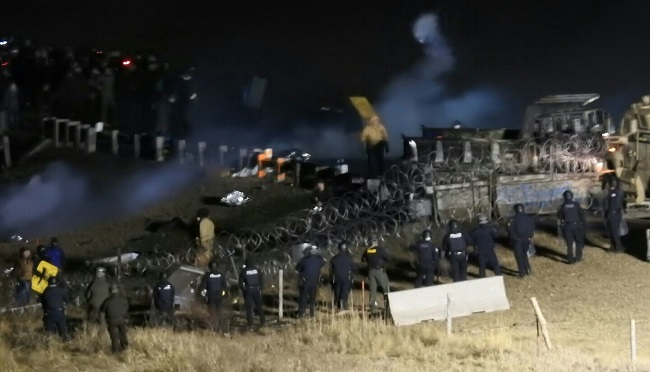 Oil Pipeline Protest_323968