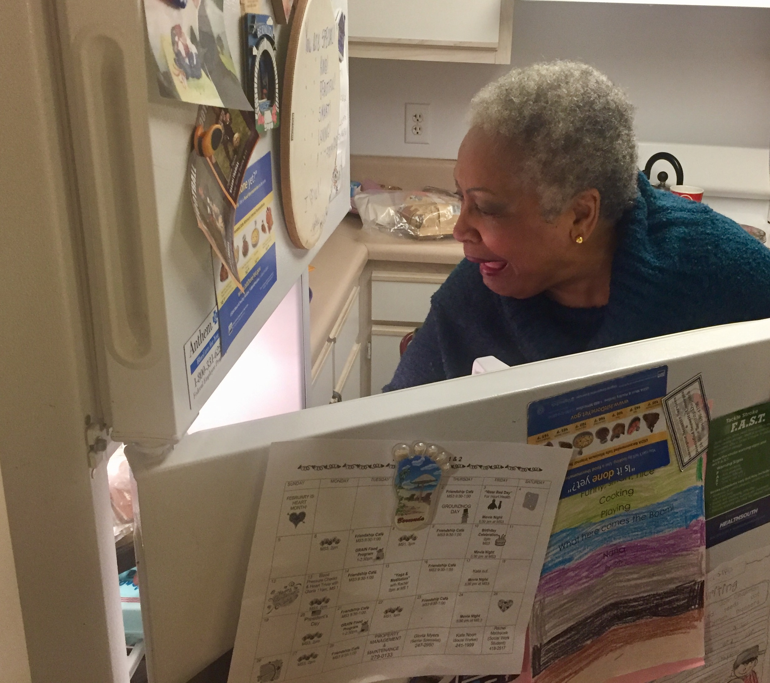 Barbara Waller Nealy says she has made lifelong friends through Meals on Wheels.