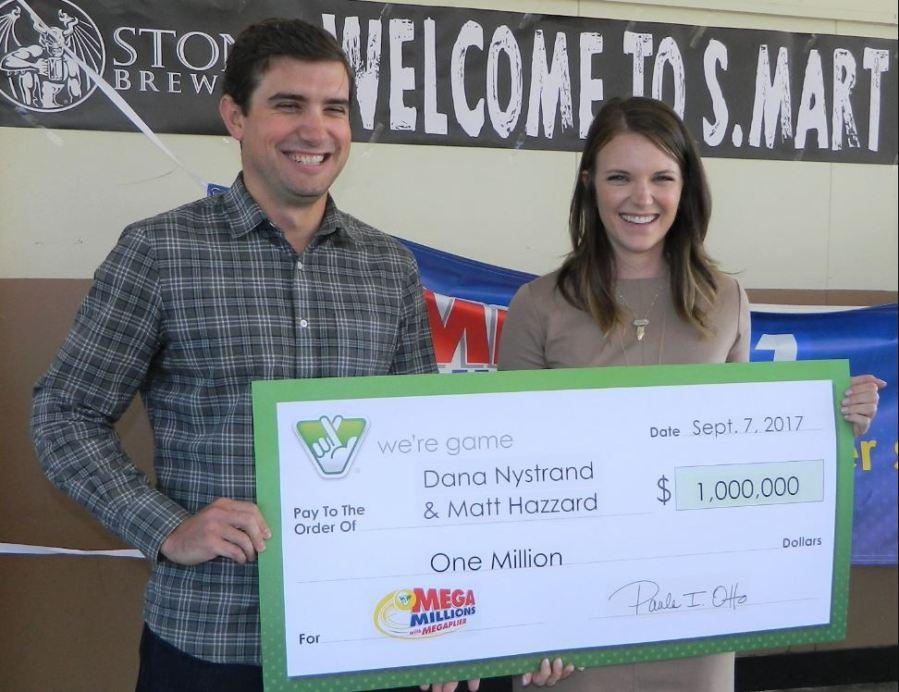 Richmond Couple Splits 1 Million Mega Millions Prize