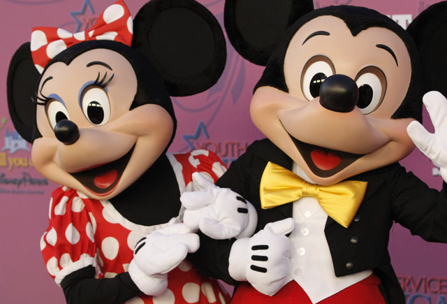 Mickey and Minnie Mouse_322776