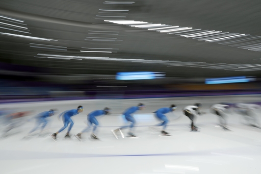 Pyeongchang Olympics Speed Skating_563833