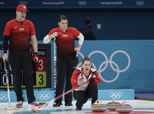 Pyeongchang Olympics Curling_563557