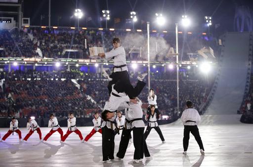 Pyeongchang Olympics Opening Ceremony_563717