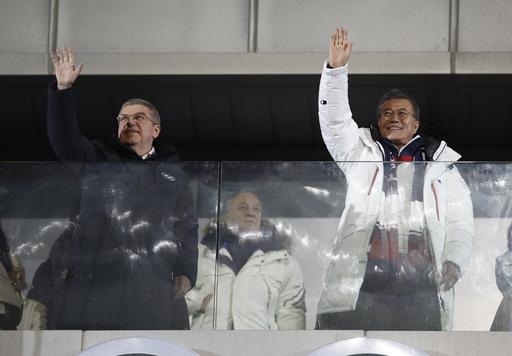 Pyeongchang Olympics Opening Ceremony_563754