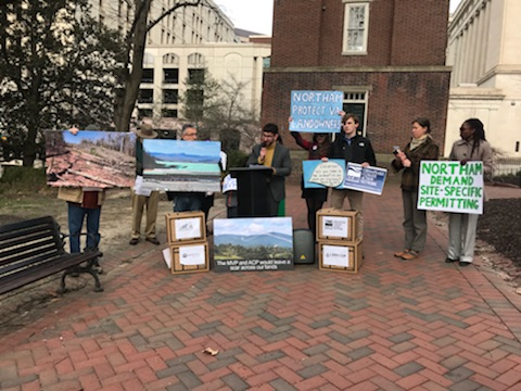 Over 70,000 Sign Petitions Protesting Pipelines Across Virginia