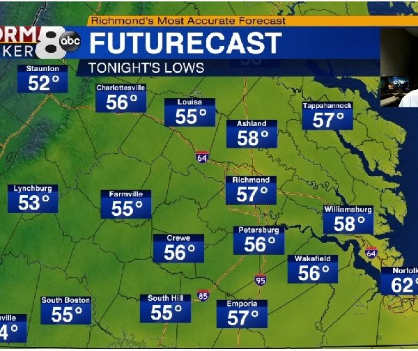 A look at Friday's Weather