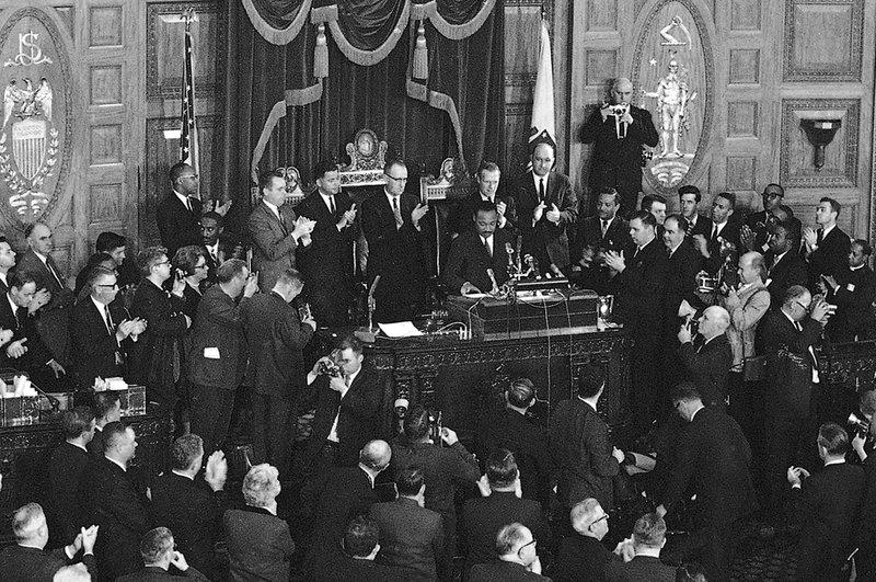 King's assassination eve speech read out loud in Boston