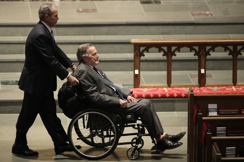Former President Bush out of intensive care