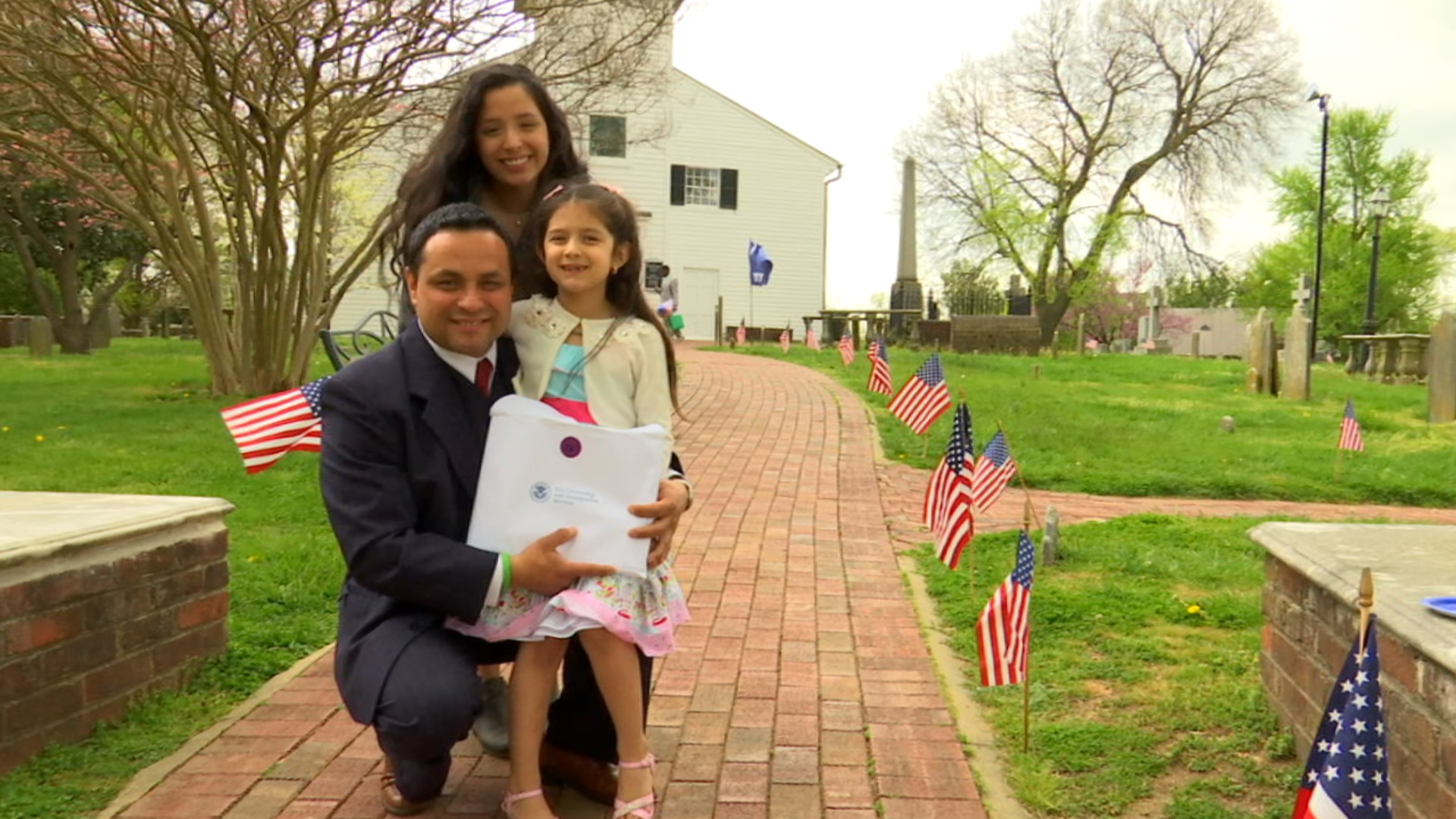 We are living the American dream:' 72 people take oath in