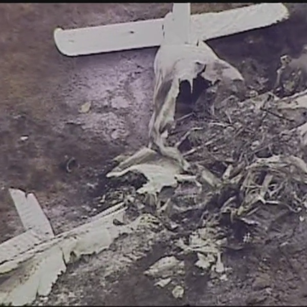 Chesapeake Plane Crash Scene - 4