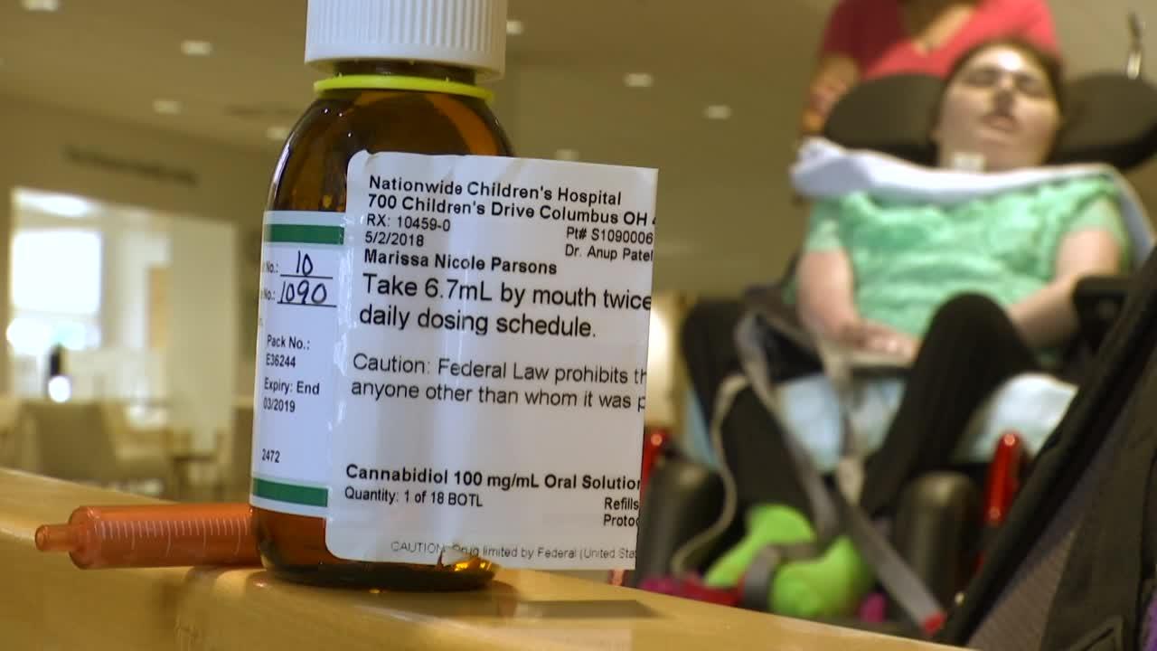 cannabidiol CBD oil nationwide children's patient-873772846