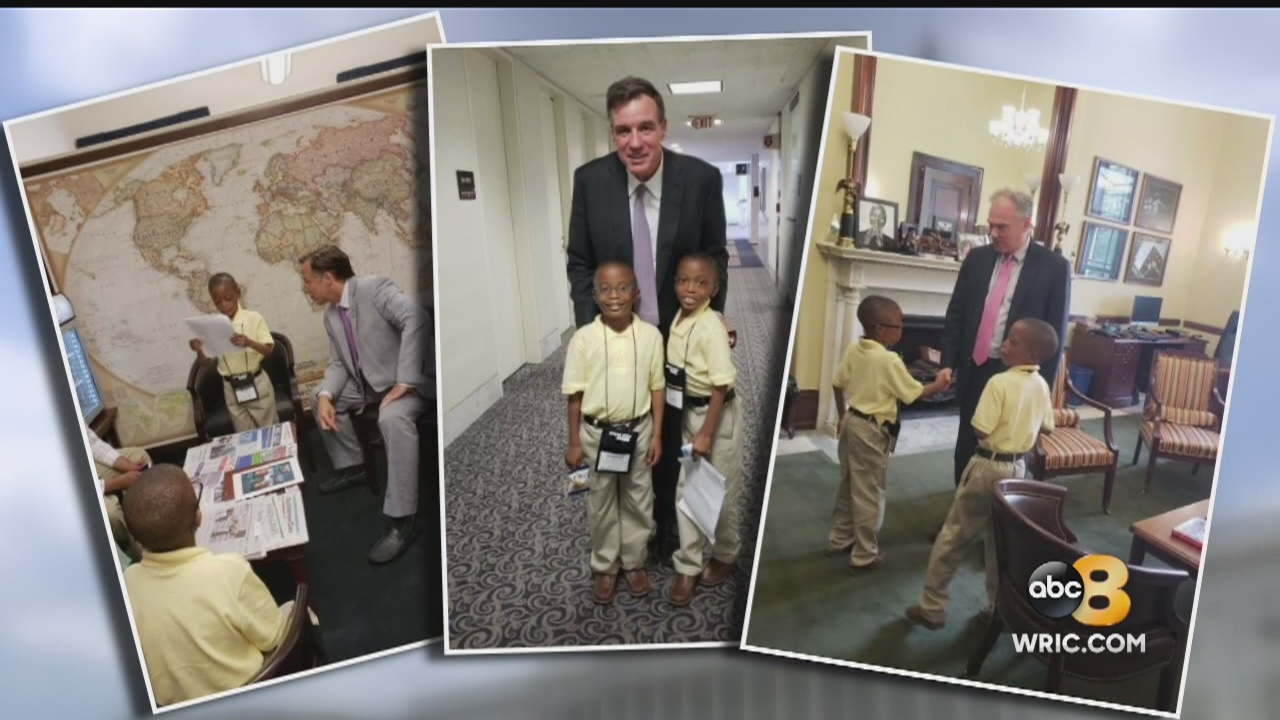 Twin boys from the Richmond area are taking on your lawmakers to make sure kids who are in the hospital get the support they need from Washington.