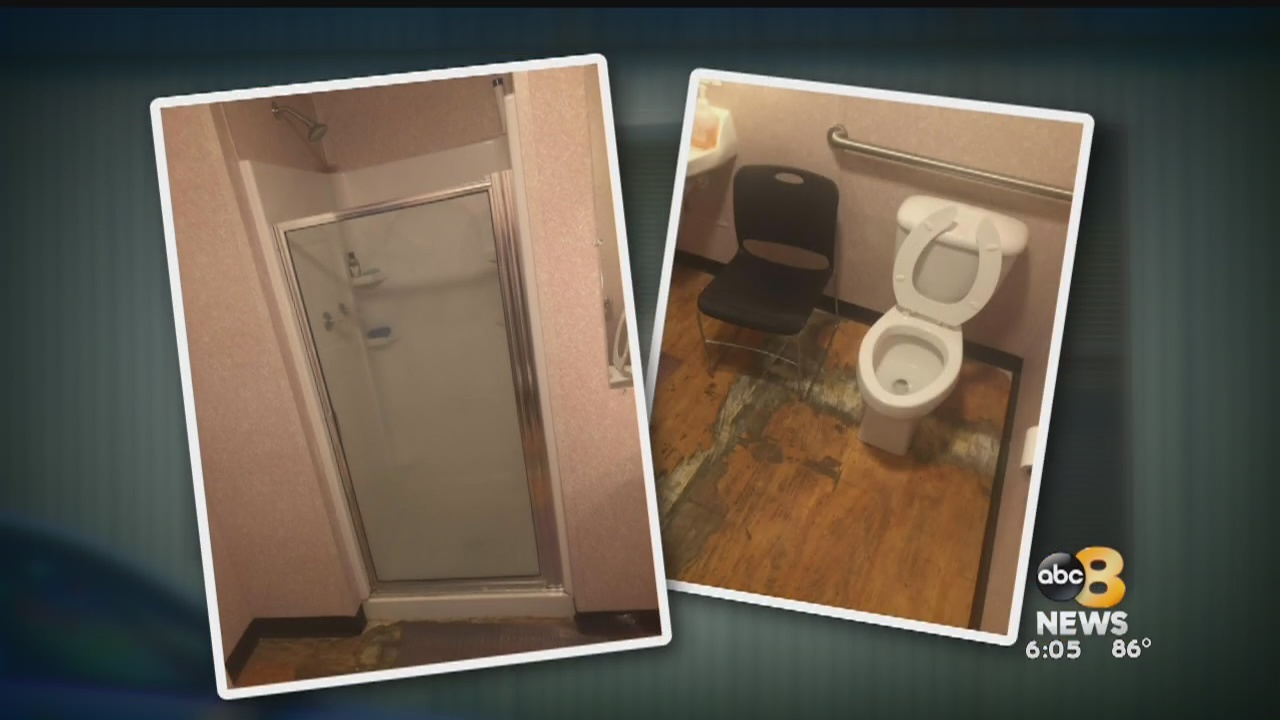 Corrections officers living in tiny trailers, hours from family to