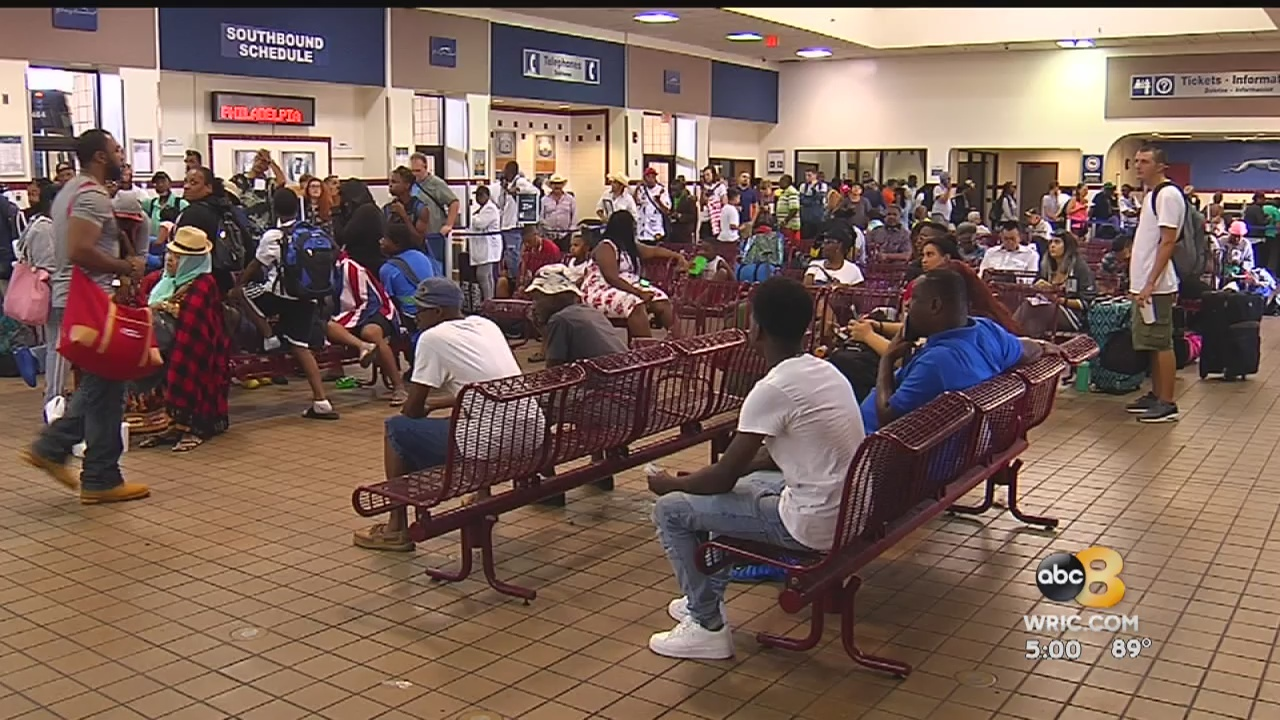 We want drivers!': Hundreds of travelers stranded for hours at