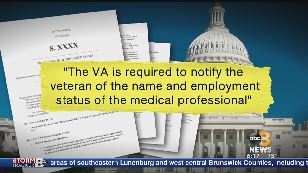 A veteran trying to close a VA loophole takes his fight to Washington in hopes of helping other veterans avoid his pain.