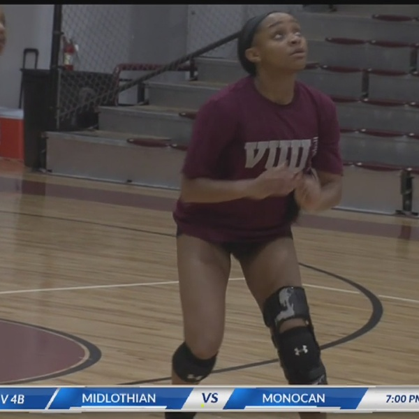 Athlete of the Month October 2018: VUU freshman volleyball standout Jada Starling