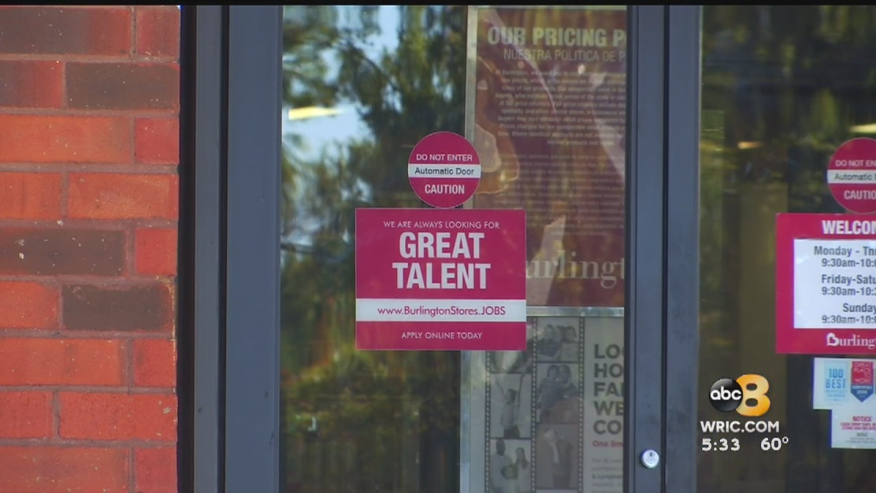 Have you noticed the help wanted signs posted throughout the Richmond area? There there are not enough workers to fill available jobs. Businesses are struggling to find good help.