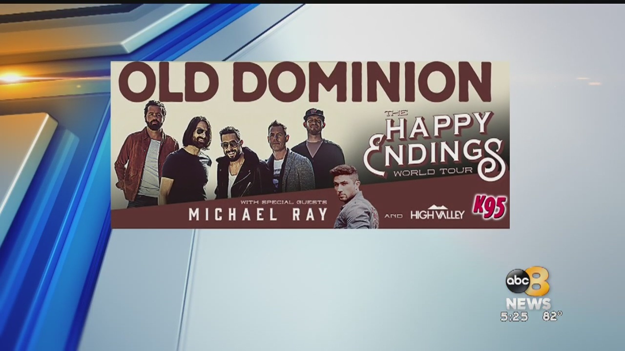 Country group Old Dominion performing Friday at Innsbrook