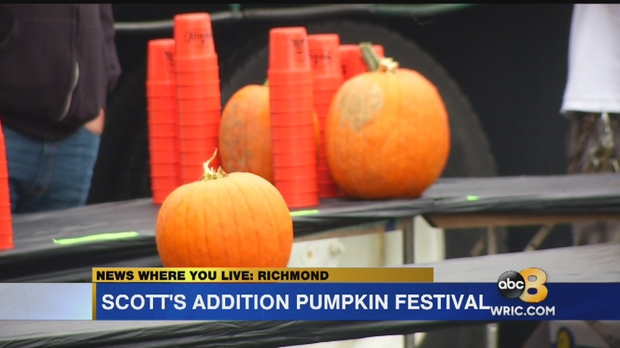 Pumpkins take over Scott's Addition with annual festival