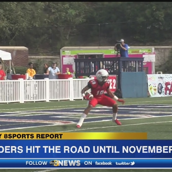 Spiders hit the road for two-straight road games