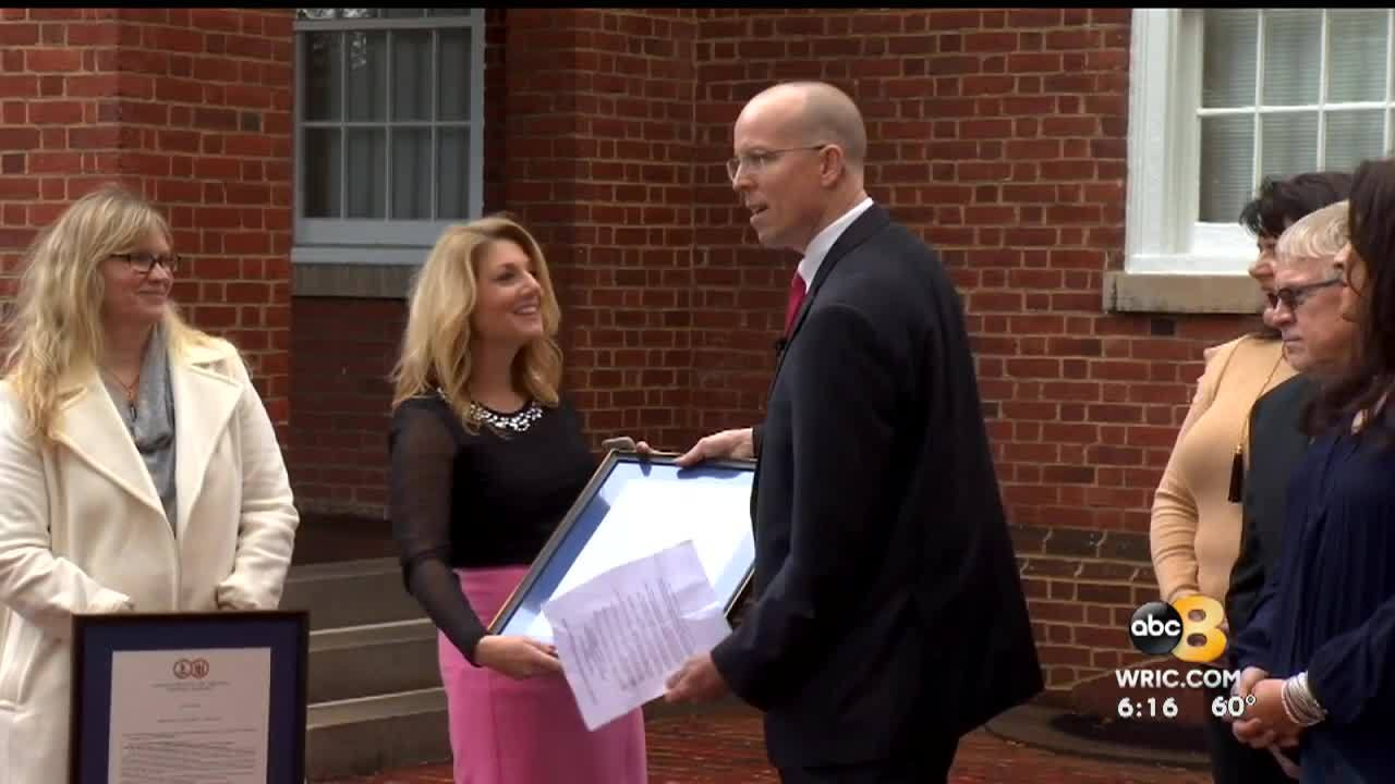 8NewsInvestigative Reporter Kerri O'Brien has beenrecognized for her efforts to get unpaid restitution to crime victims.