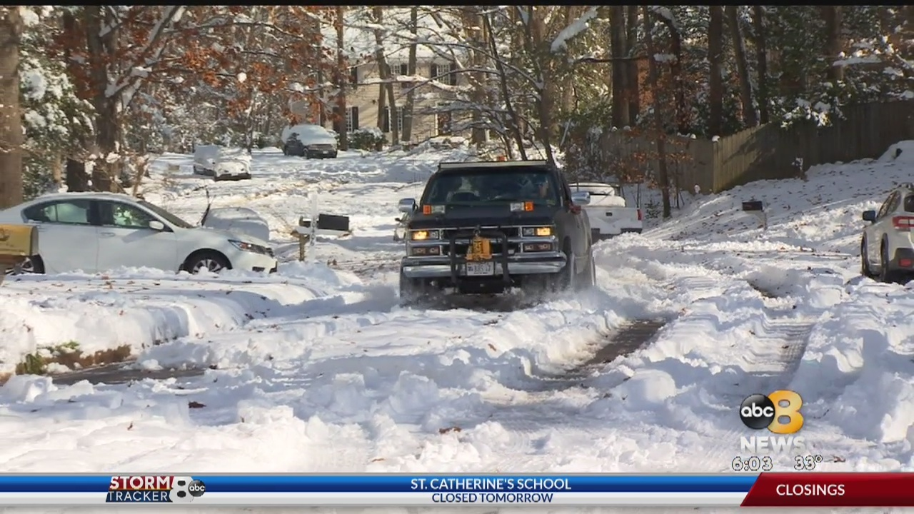 Henrico County residents deal with difficult road conditions