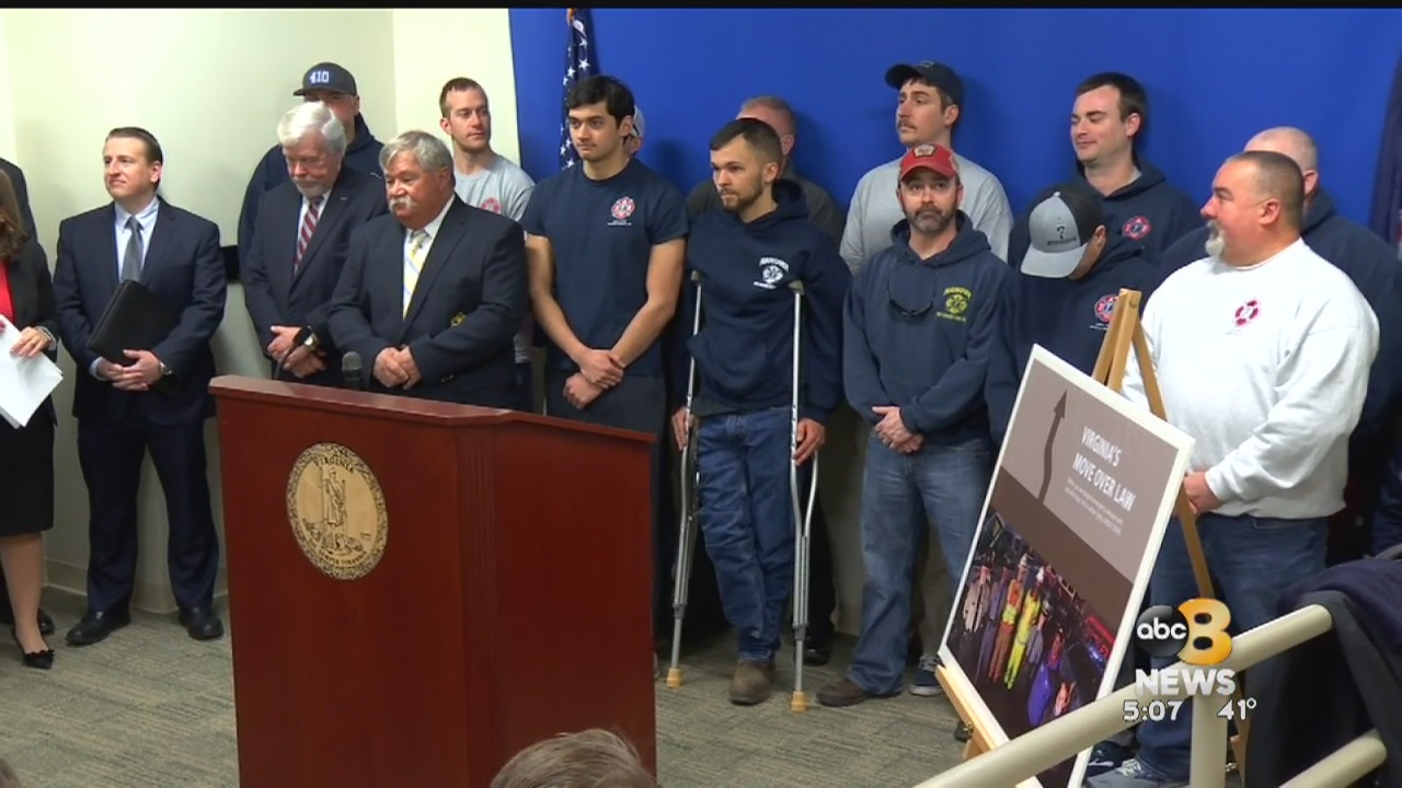 The proposed change follows the death of a Hanover firefighter, LieutenantBrad Clark, who was killed after a tractor-trailer slammed into his fire truck.