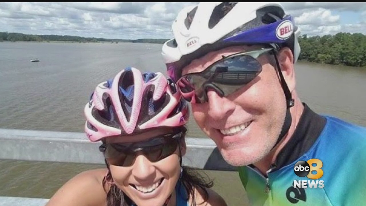 A Chesterfield father of four and triathlon coach is being remembered by loved ones and friends after being killed on Tuesday morning after being struck by a tractor-trailer on Route 288.