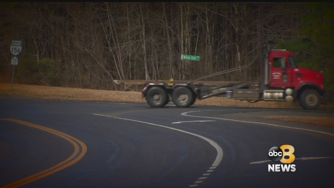 Some residents in Henrico say they're tired of the truck traffic and they fear for their safety.  They believe they have a way to put the brakes on it and it's all in a name