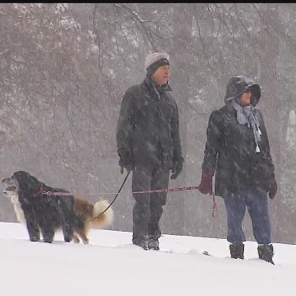 Safety reminders for walking on snow and ice