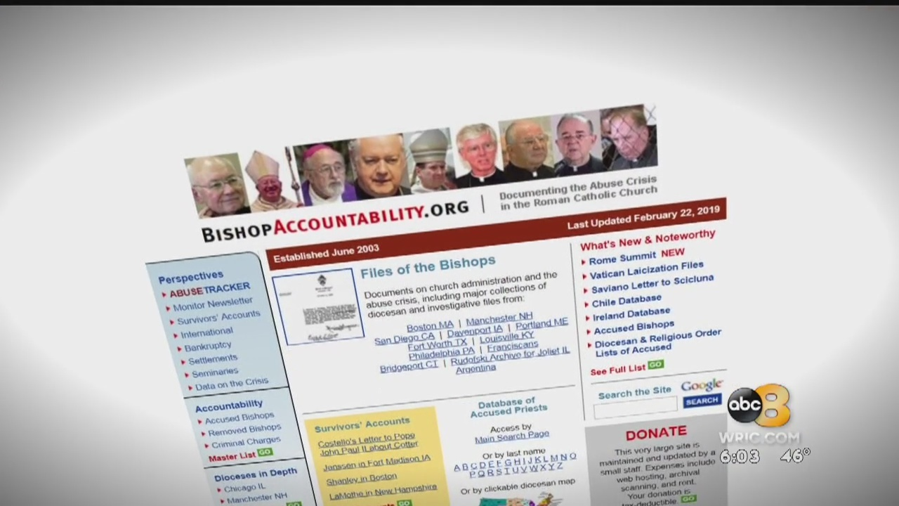 A group that documents abuse in the Catholic Church says names are missing from a list of accused sex abusers recently released by the Diocese of Richmond.