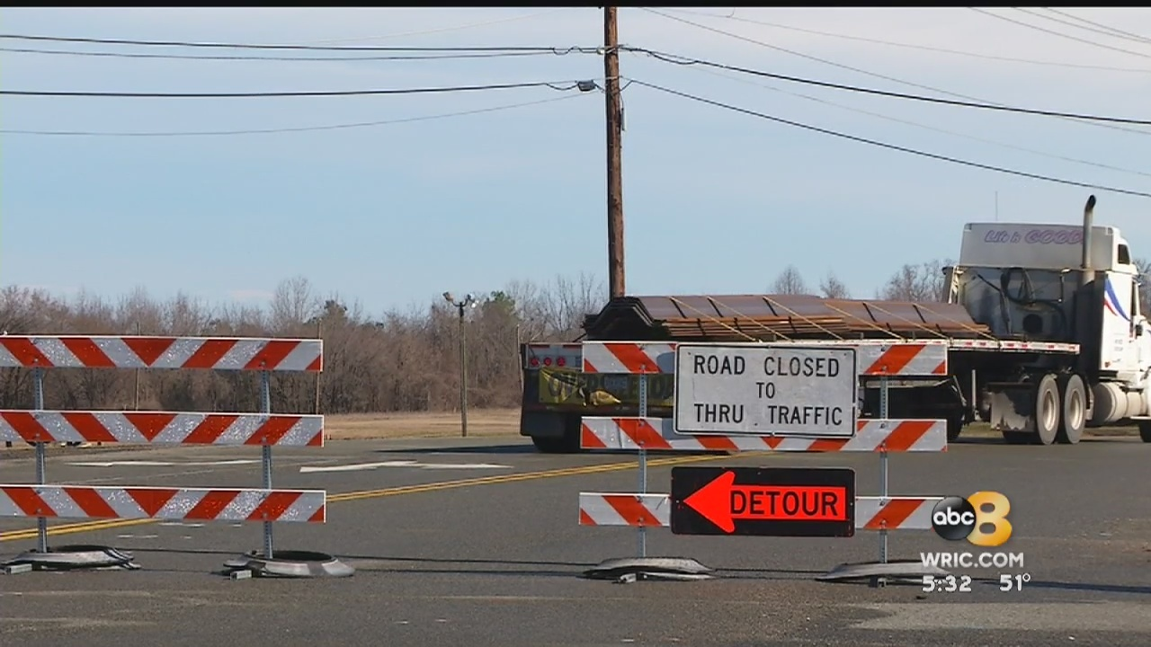 Portion of Richmond-Henrico Turnpike closed for a month due to repairs