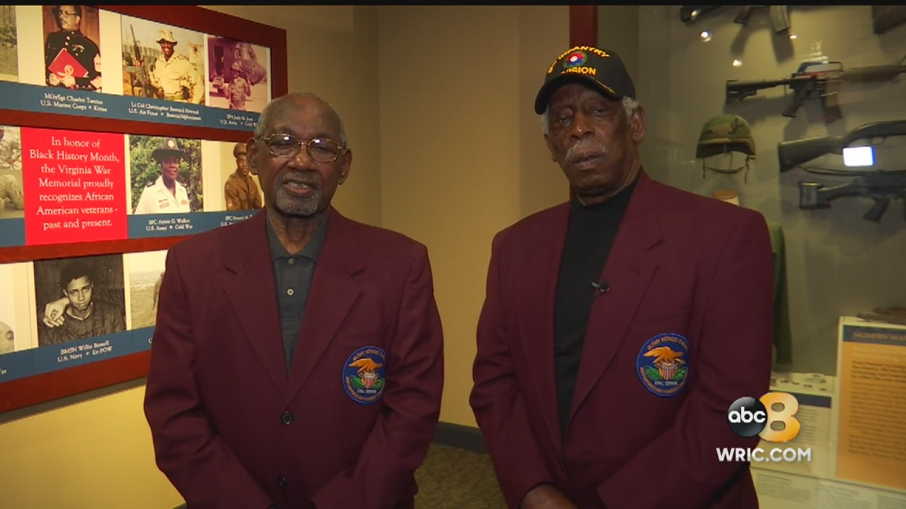 In honor of Black History Month, the VirginiaWar Memorial had a special program on Tuesday about African-American troops who played a big role in the Union's victory during the American Civil War.