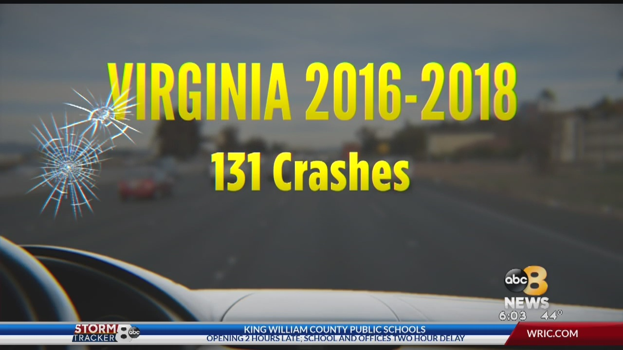 At a VDOT site where road debris is collected, 8News found couches, coolers, tires, metal and even a grill -- all items that landed on Virginia roadways.