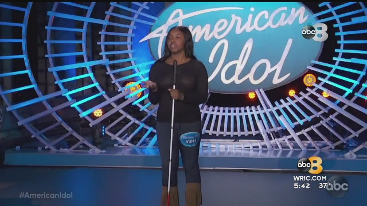 8News recently sat down with a blind Midlothian teen who hopes to inspire others as she prepared to hit the national stage for her debut on this season of 'American Idol.'