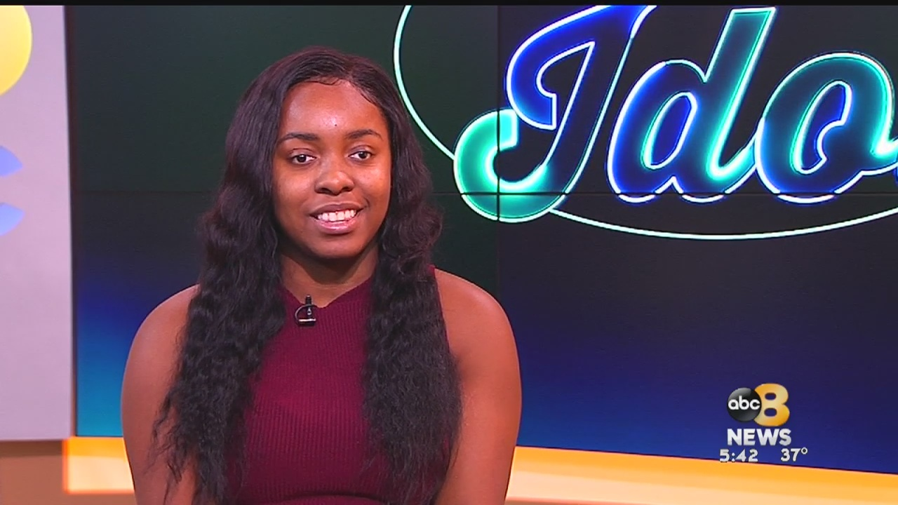 8News recently sat down with a blind Midlothian teen who hopes to inspire others as she preparedto hit the national stage for her debut on this season of 'American Idol.'