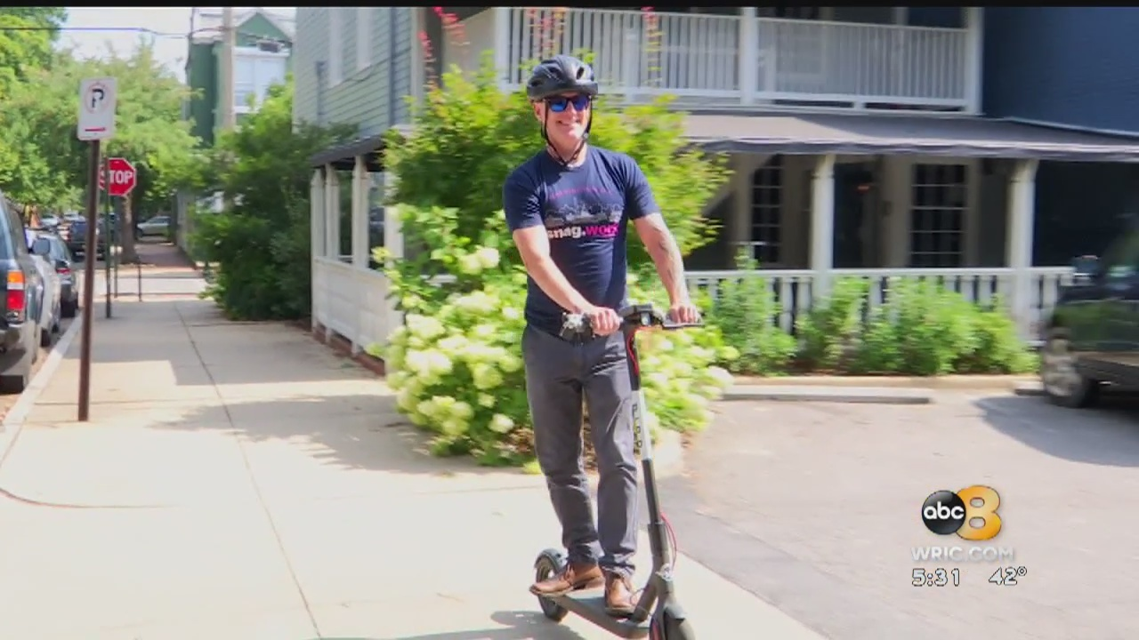 Electric scooters may soon be on their way to Richmond.