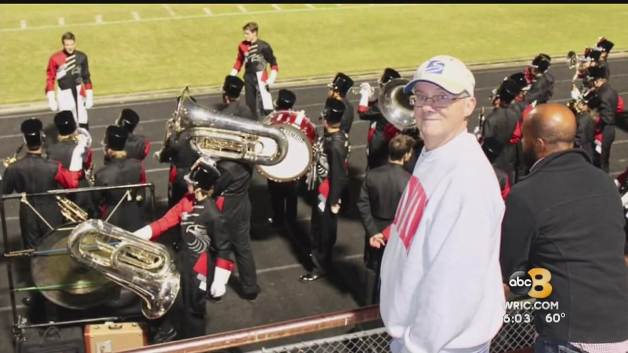 Godwin High School is mourning the loss of a beloved band instructor on Monday.