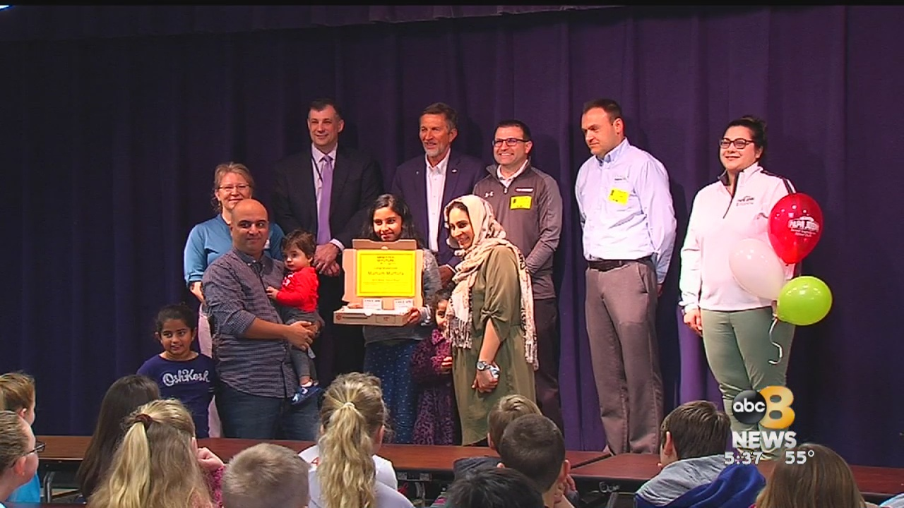 Washington-Henry Elementary School student selected as 'Better Future Fund' contest winner