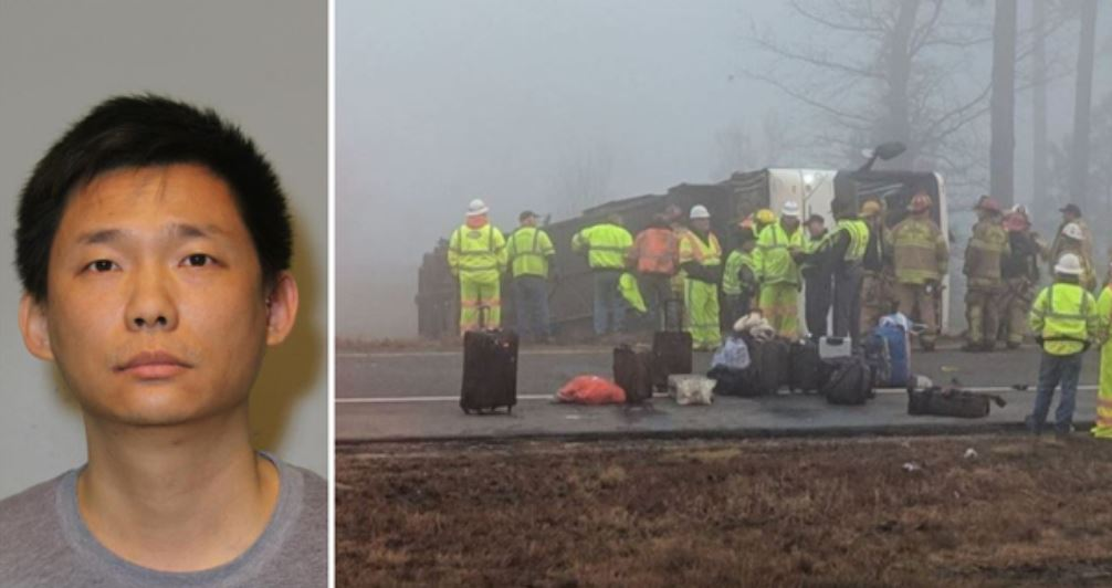 Driver in deadly I-95 bus crash to stay in Virginia for now