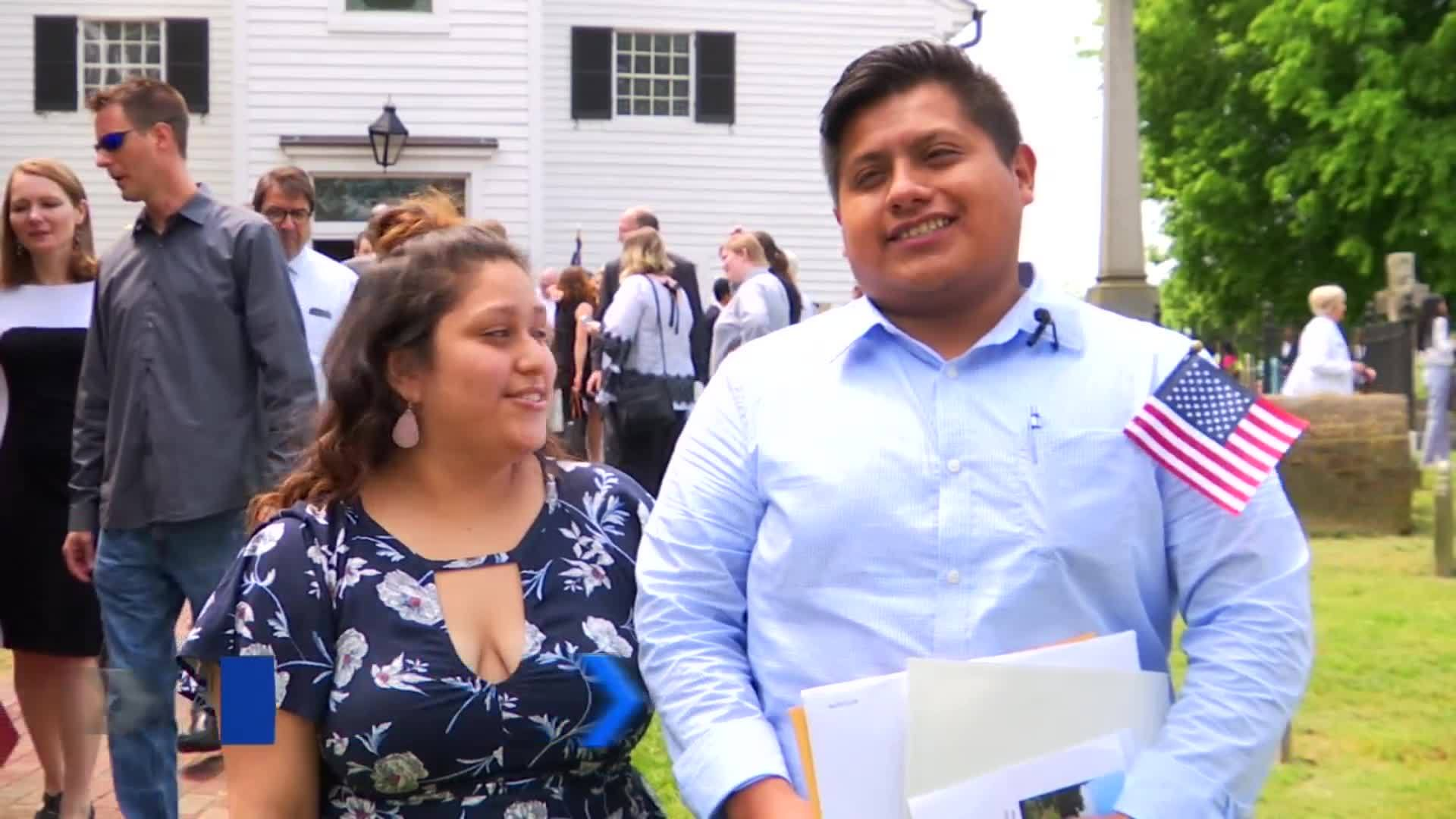 Nearly 80 people become American citizens in Richmond