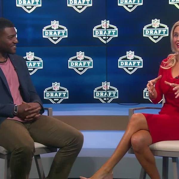 Tim Hightower recalls NFL draft experience