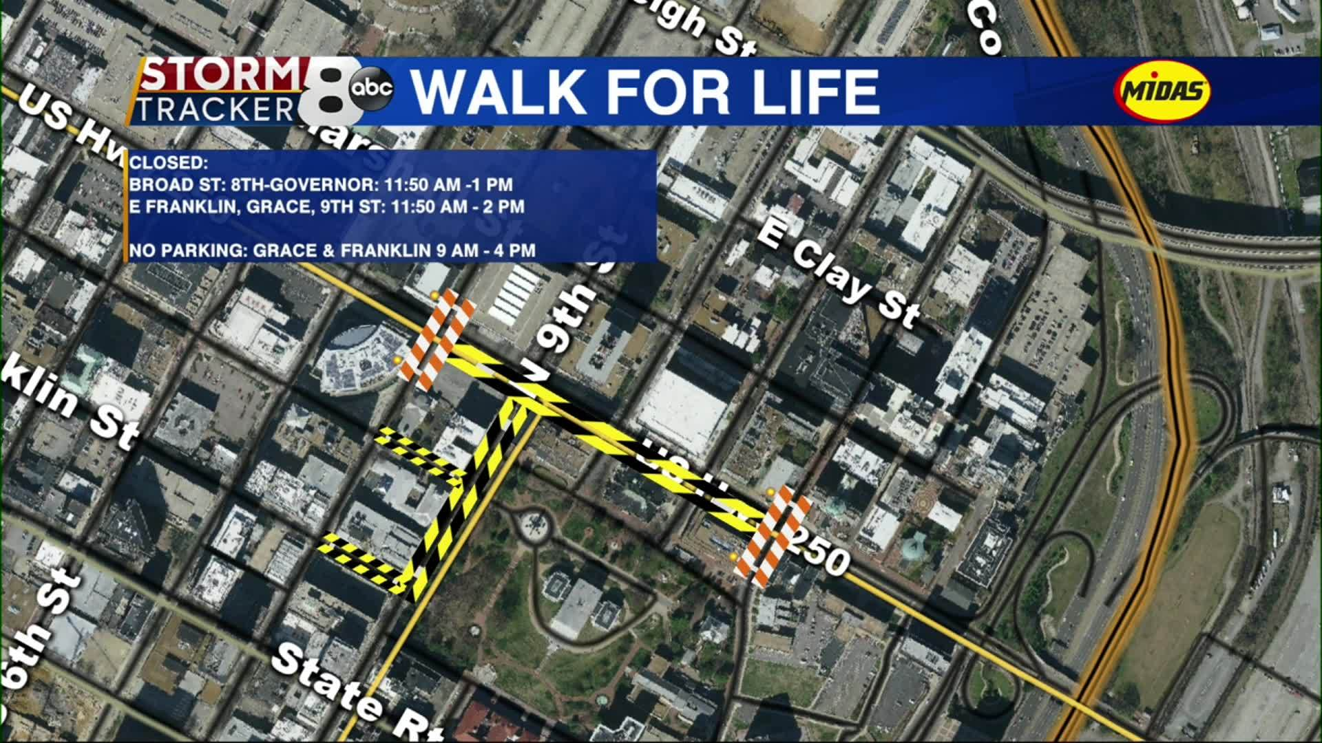 Thousands are expected to march near the State Capitol on Wednesday for the Virginia March for Life.