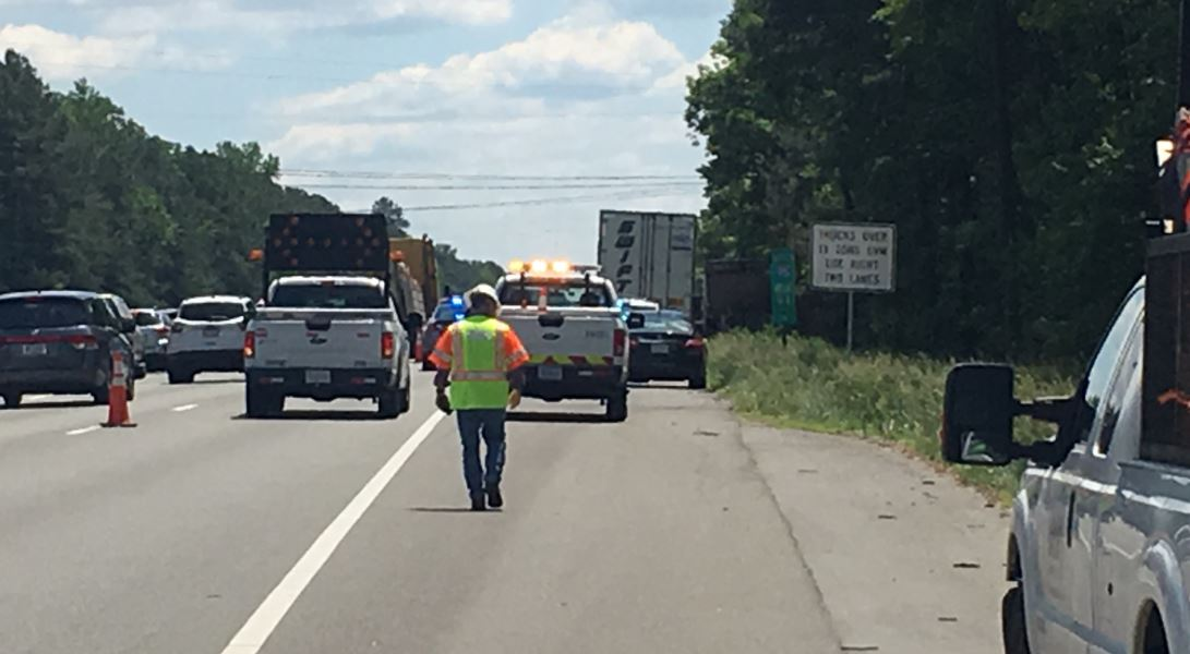 State Police: Tractor-trailer driver found dead on I-95 in
